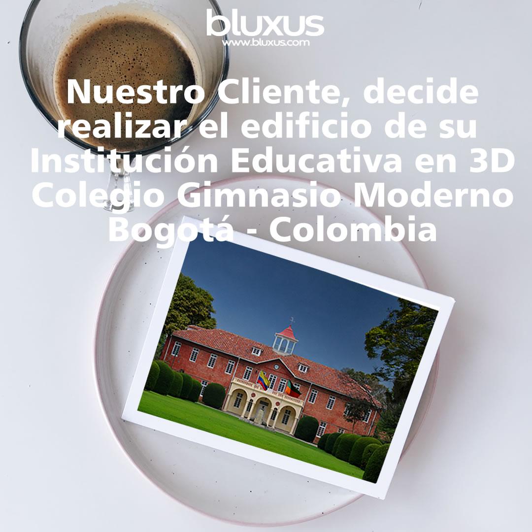 Prototipo 2D Colegio Gimnasio Moderno Bogota