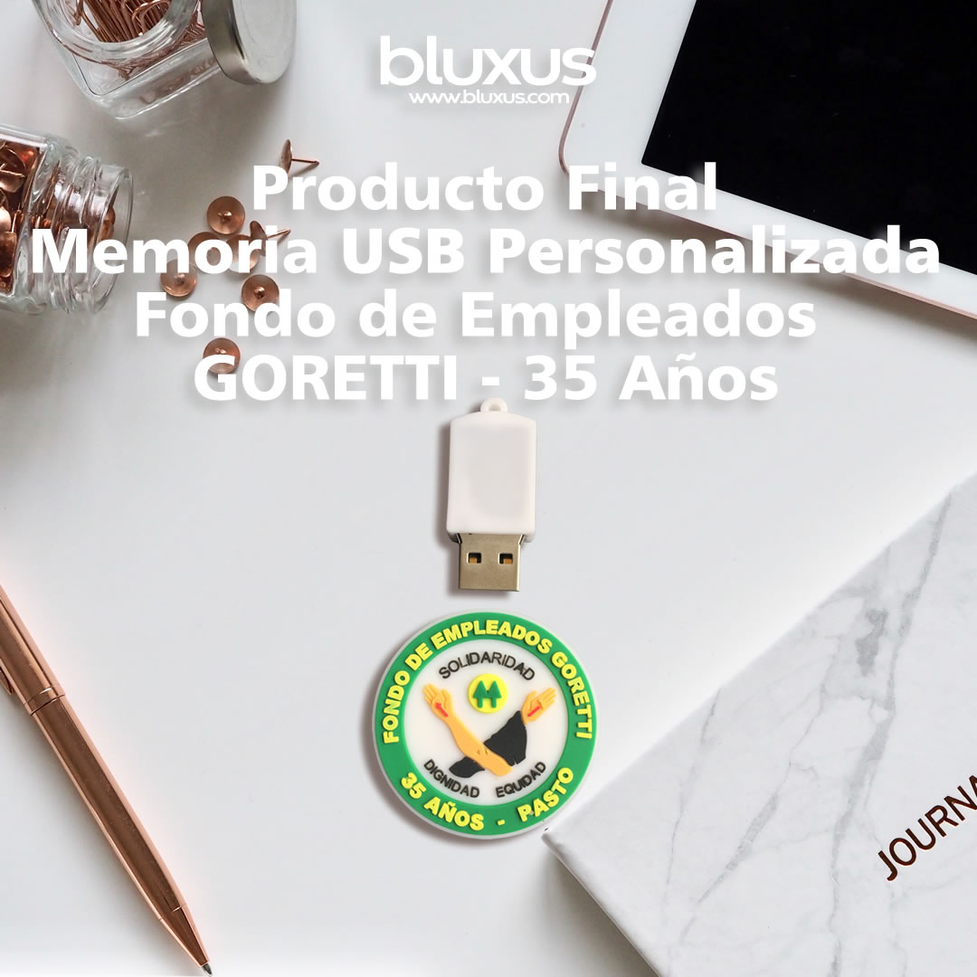 Memorias USB Personalizada Fondo Empleados Cesmag