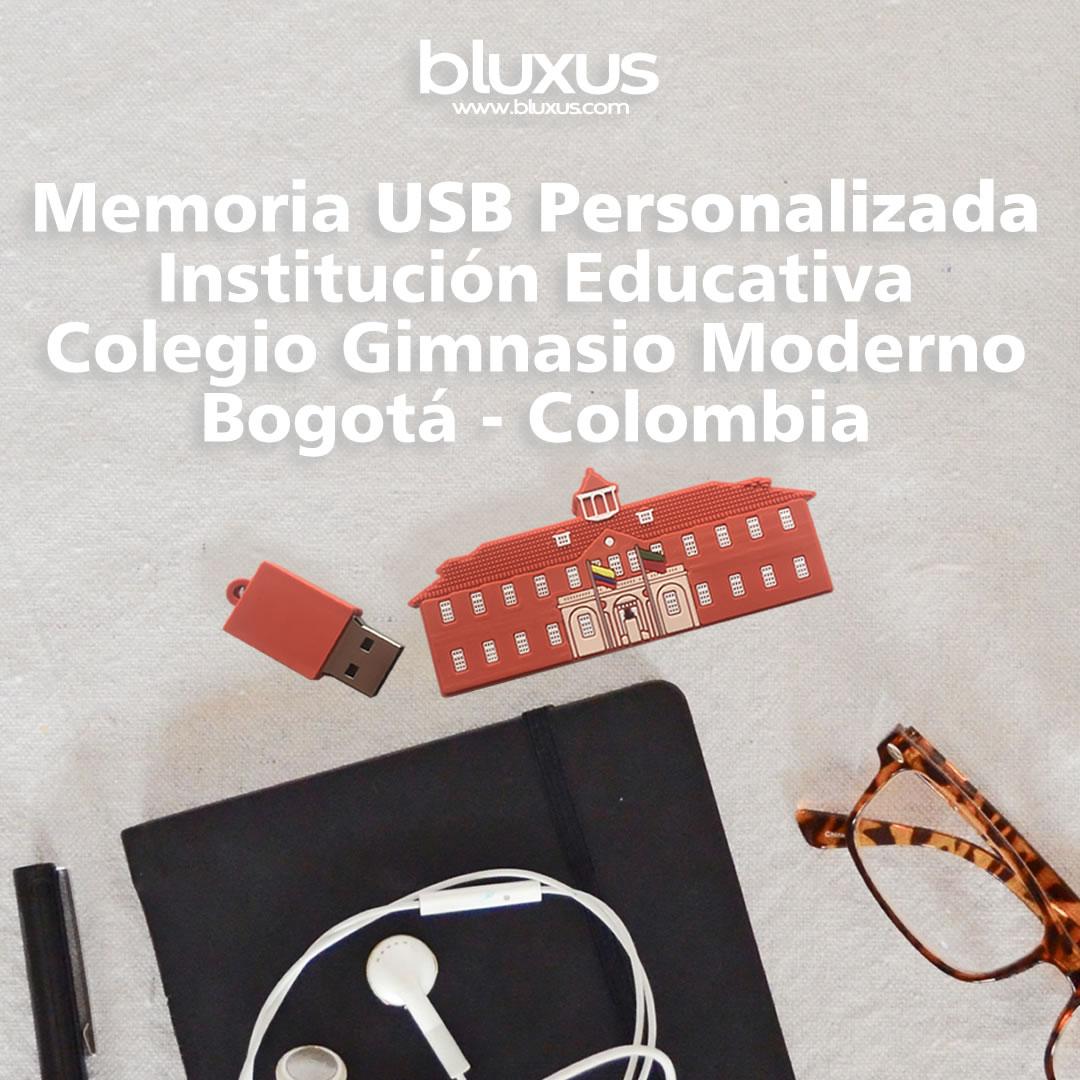 Memoria USB Personalizada Colegio Gimnasio Moderno Bogota