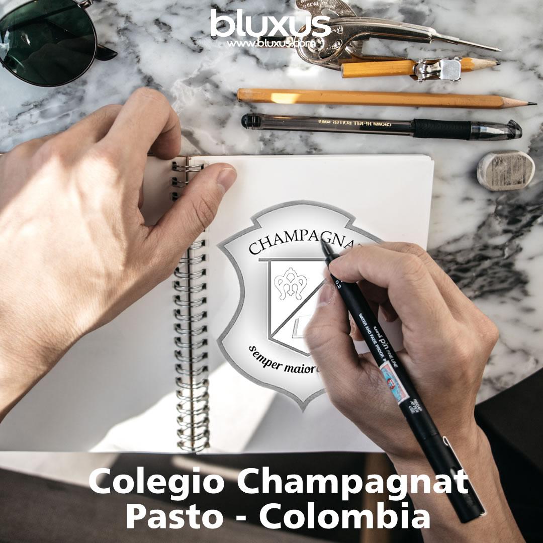 Diseño 2D Colegio Champagnat Pasto