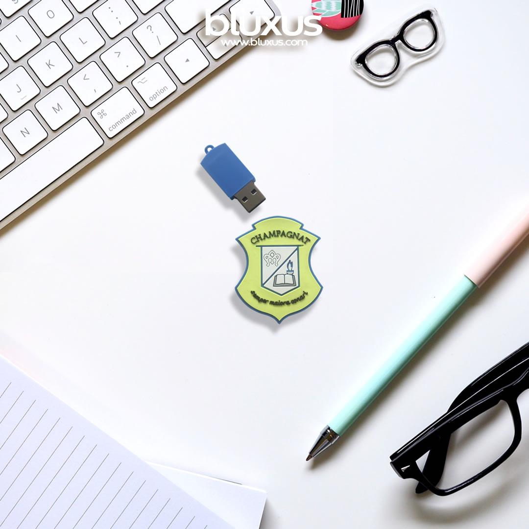 Memorias USB Personalizada Colegio Champagnat Pasto