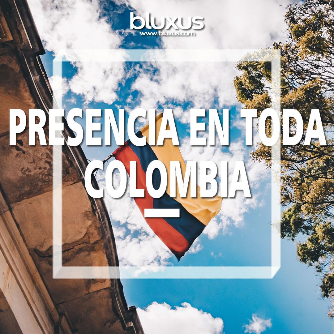Presencia en toda Colombia