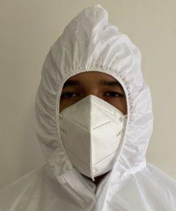 Traje de Protección Antifluidos Reutilizable prevención COVID-19 9