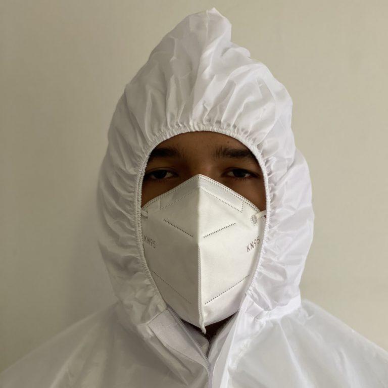 Traje de Protección Antifluidos Reutilizable prevención COVID-19 3