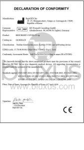 BIOCREDIT COVID-19 AG Pruebas Rápidas Colombia 2021 9