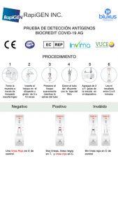 BIOCREDIT COVID-19 AG Pruebas Rápidas Colombia 2021 11