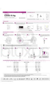 Prueba Rápida de Antígeno [2020] Standard Q Covid-19 AG 10