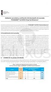 Prueba Rápida de Antígeno [2020] Standard Q Covid-19 AG 2
