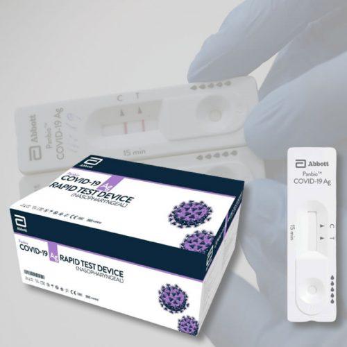 Prueba Rápida de Antígeno [2020] Panbio Covid-19 AG Test Device Abbott