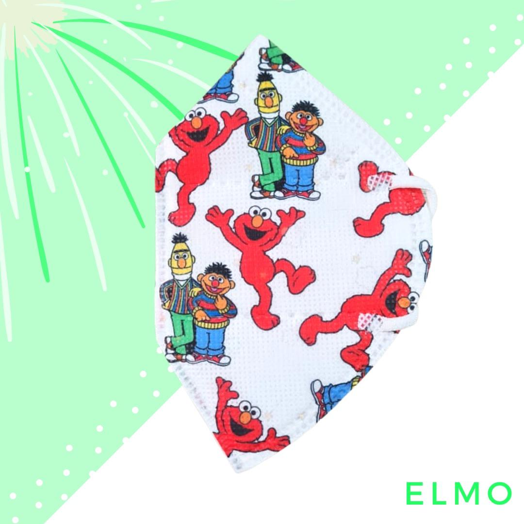 Tapabocas Elmo Plaza Sésamo 2