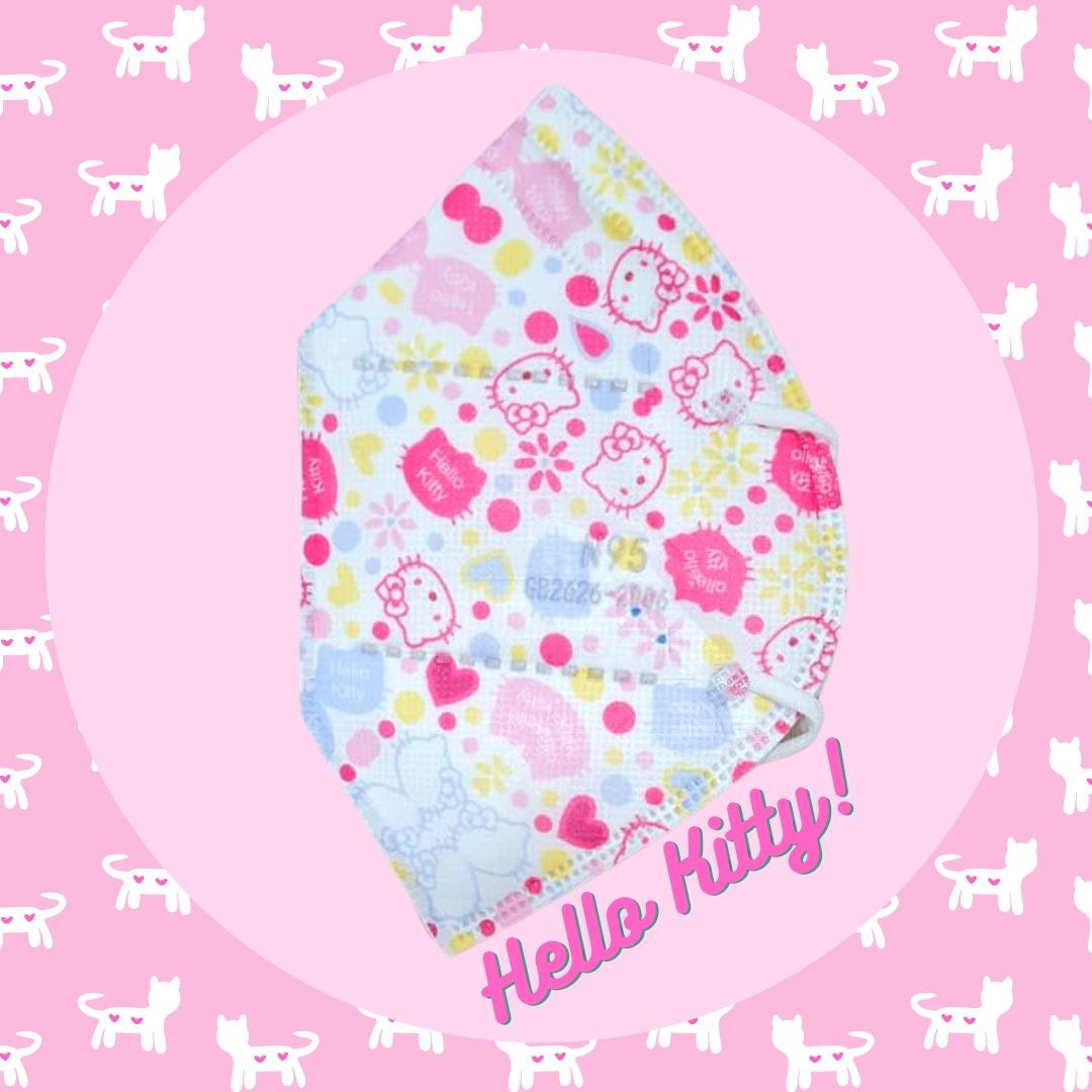 Tapabocas Hello Kitty N95