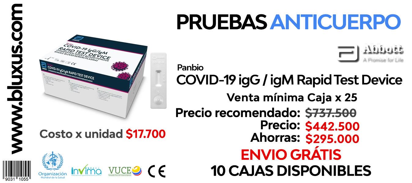 Prueba Rápida Covid-19 en Colombia | Distribuidores Autorizados 2
