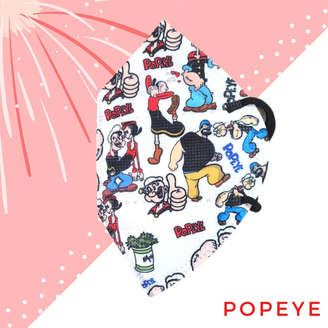 Tapabocas Popeye