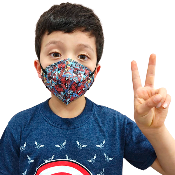 Tapabocas N95 para Niños 5 Capas