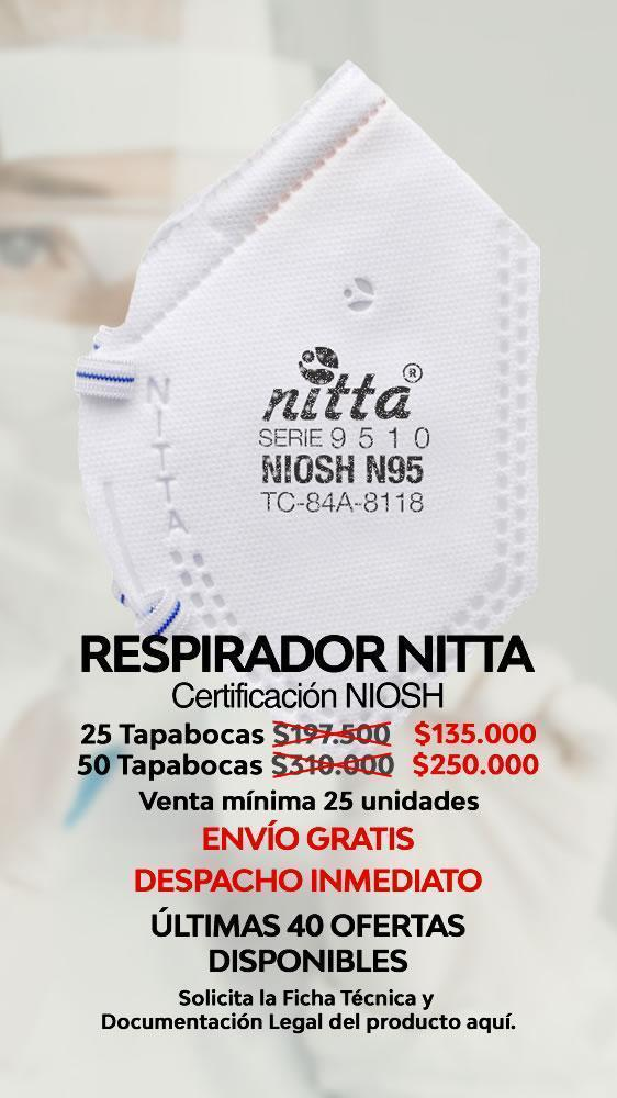 Tapabocas NITTA