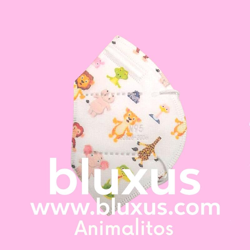 Tapabocas Figuras Animalitos
