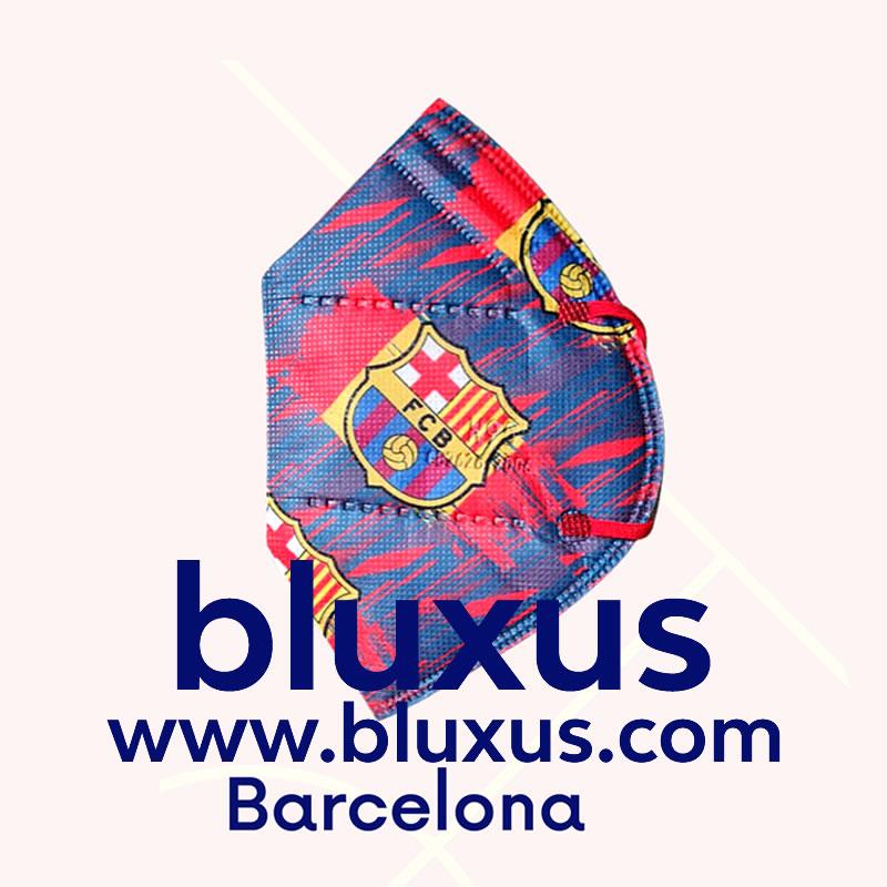 Tapabocas Futbol Barcelona Barza
