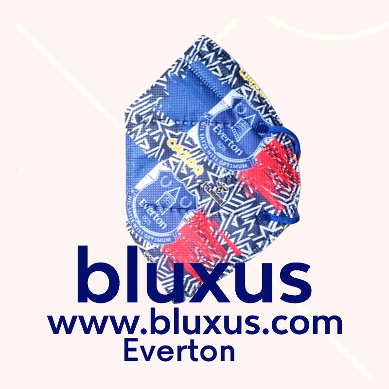 Tapabocas Futbol Everton