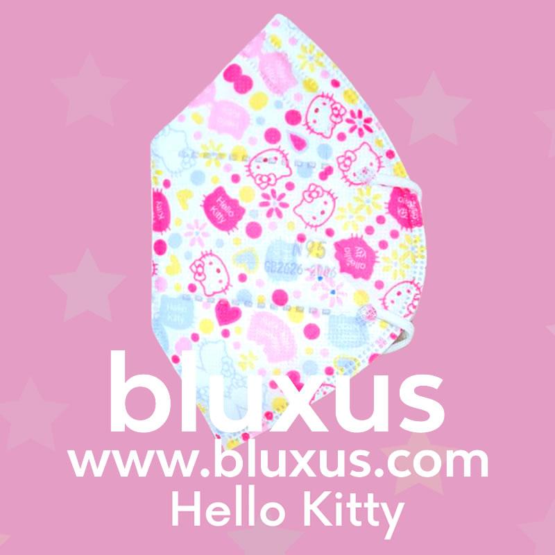 Tapabocas de Hello Kitty