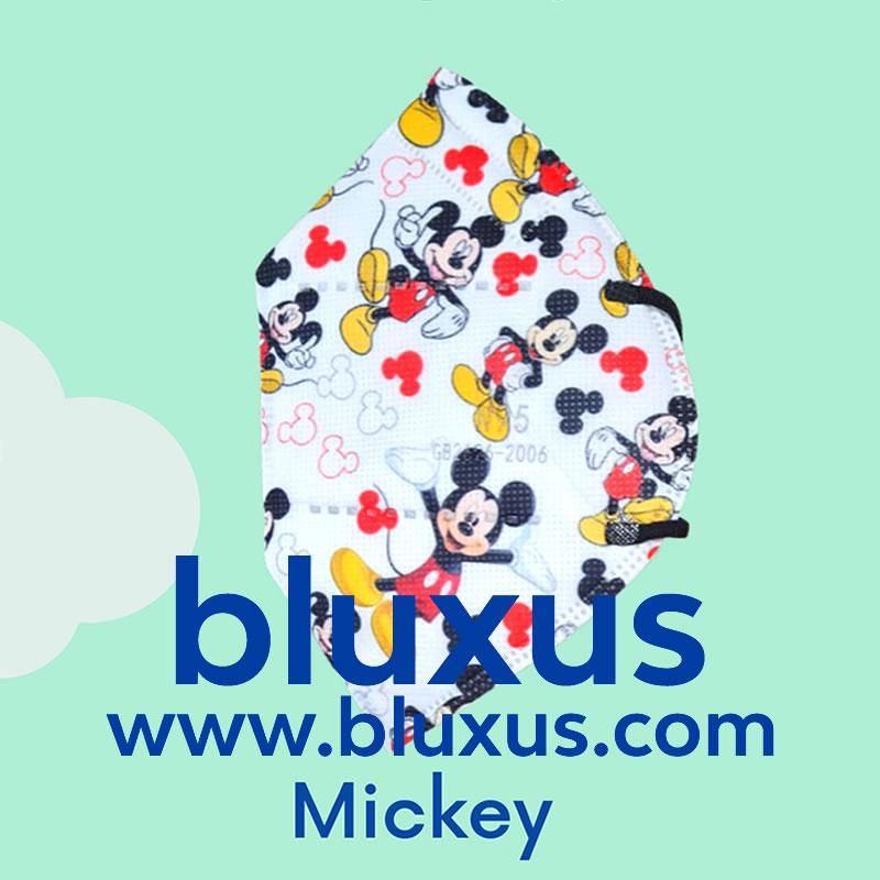 Tapabocas de Mickey