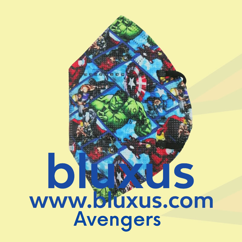 Tapabocas para Niños Avengers