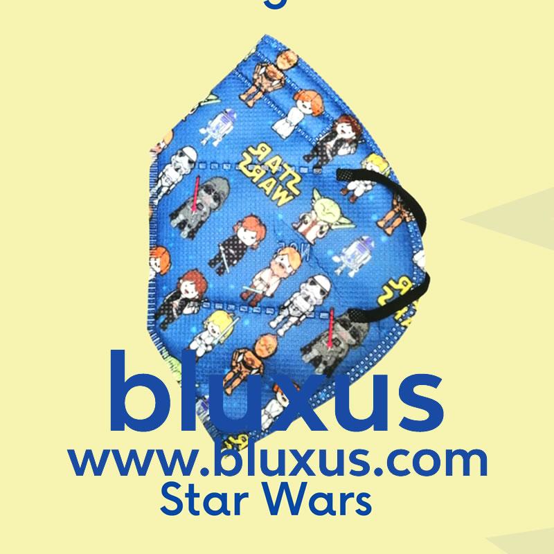 Tapabocas para Niños Star Wars
