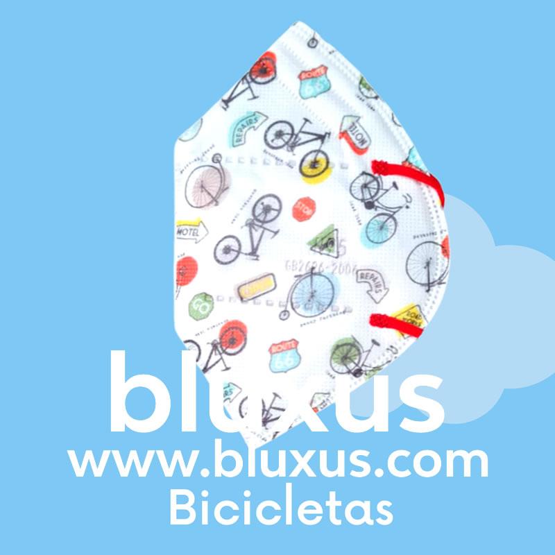 Tapabocas para Niños de Bicicletas