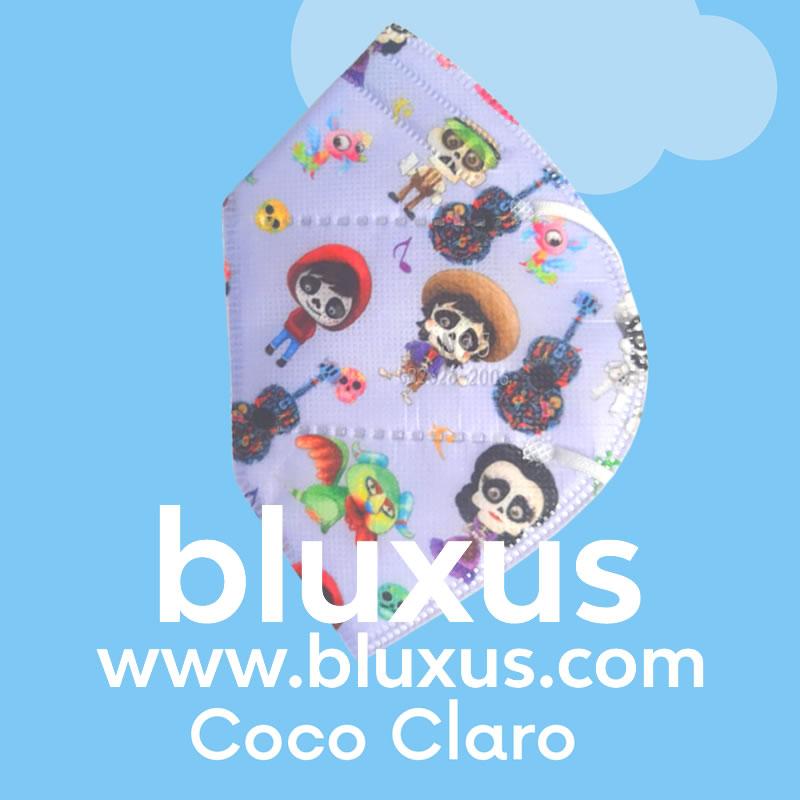Tapabocas para Niños de Coco Blanco
