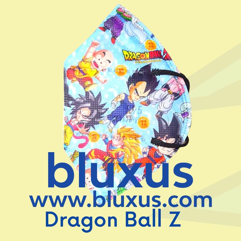 Tapabocas para Niños de Dragon Ball Z