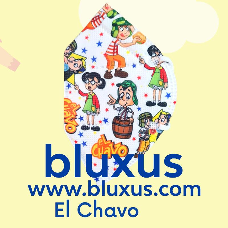 Tapabocas para Niños de El Chavo