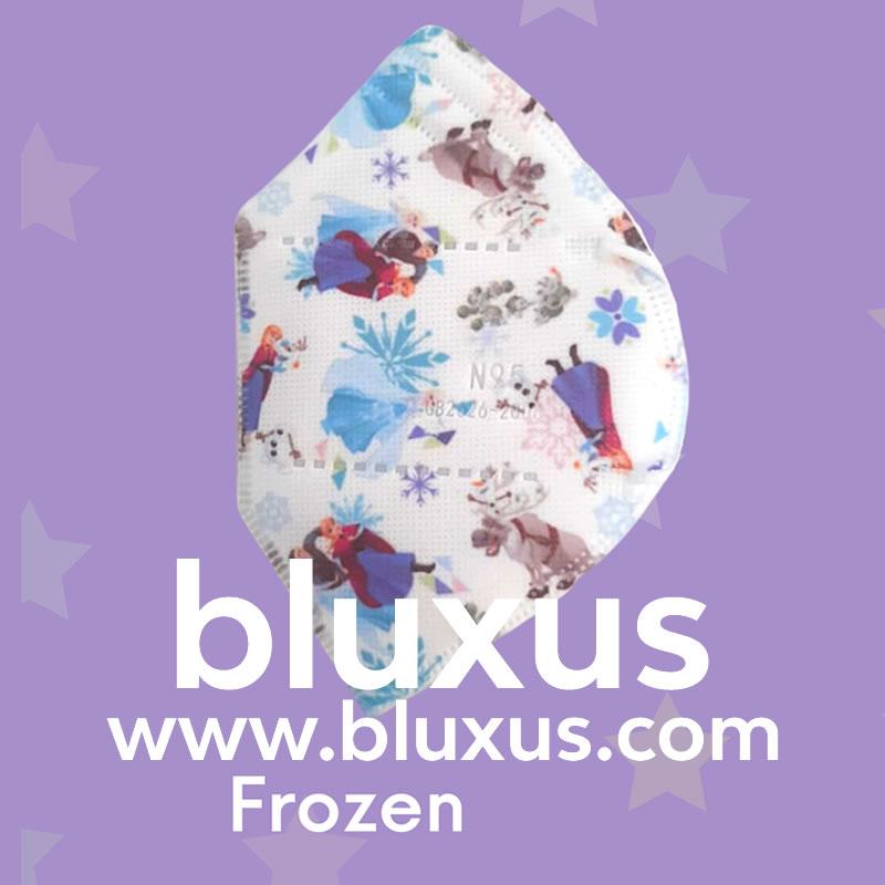 Tapabocas para Niñas de Frozen