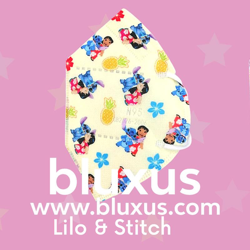 Tapabocas para Niños de Lilo & Stitch
