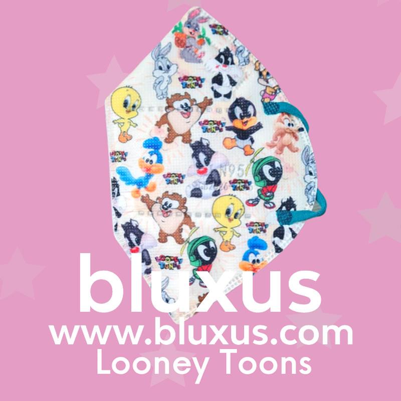 Tapabocas para Niños de Looney Toons