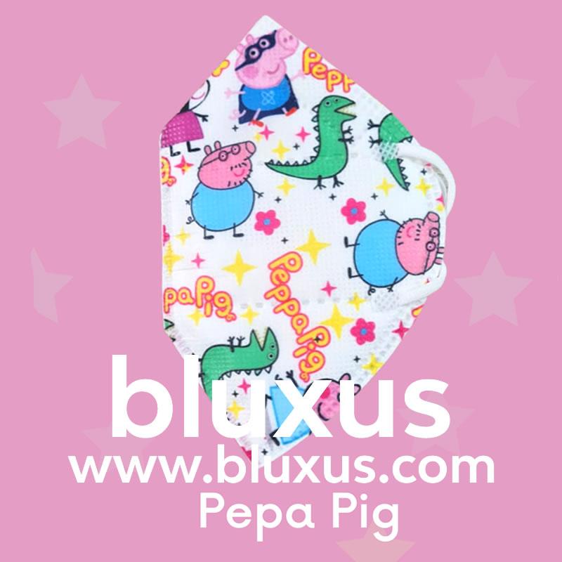 Tapabocas para Niños de Pepa Pig