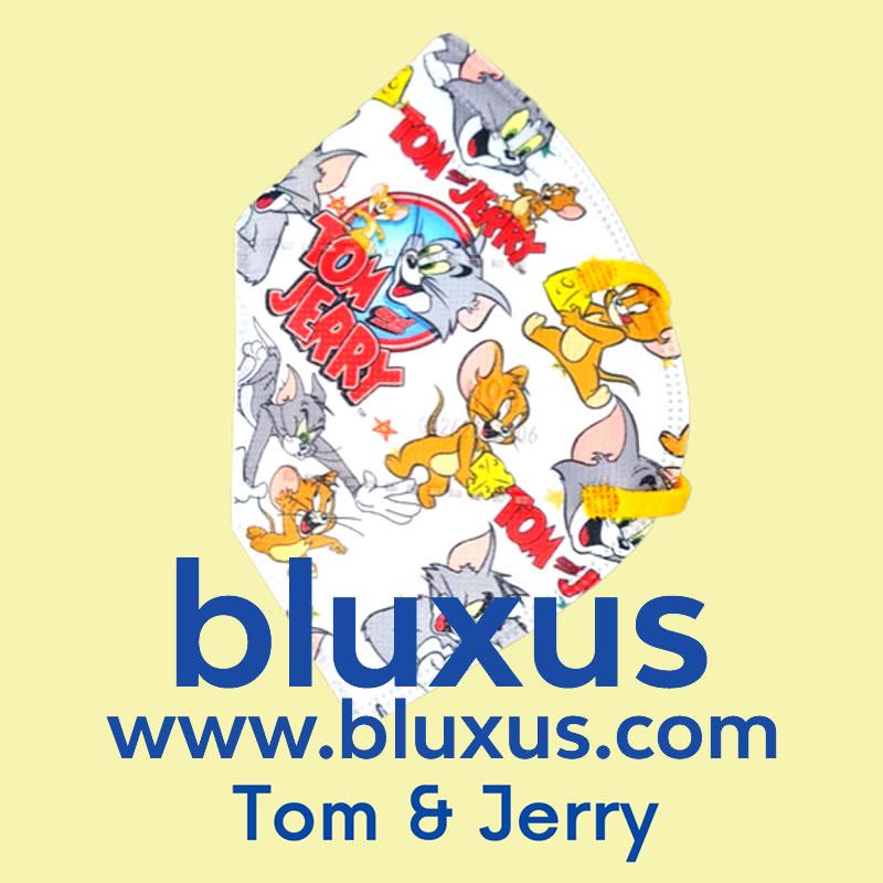 Tapabocas para Niños de Tom & Jerry