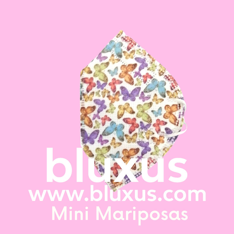 Tapabocas para mujer Mini Mariposas