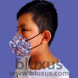 Mascarillas para Niños con elásticos en las orejas