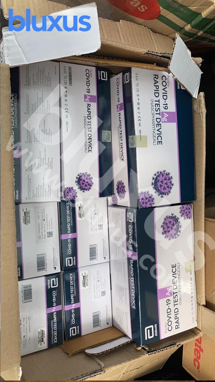pruebas rapidas antigeno covid 19 abbott panbio entrega bogota