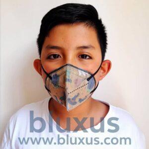 Tapabocas para Niños con Filtro Antibacterial